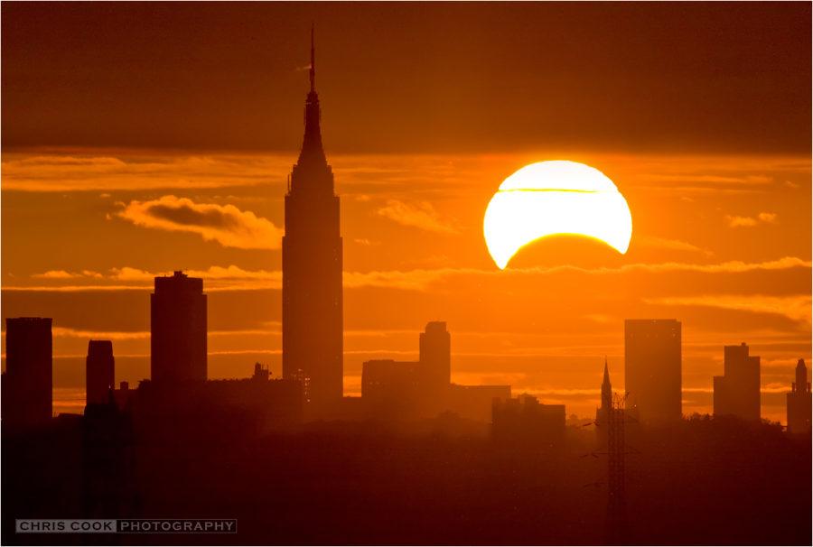 خورشید گرفتگی جزئی